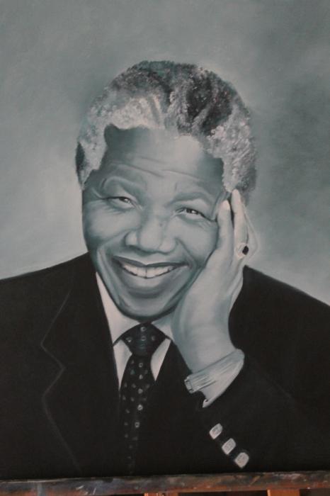 Nelson Mandela by mam